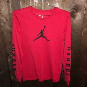 Nike Dri Fit Air Jordan Long Sleeve T-shirt Small